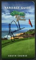 Tiger Woods Signed 2015 Torrey Pines Yardage Guide (JSA LOA)