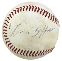 Warren Buffett Signed Baseball (PSA LOA)