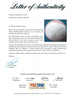 Warren Buffett Signed Baseball (PSA LOA) at PristineAuction.com