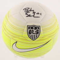 Becky Sauerbrunn Signed Team USA Soccer Ball (JSA COA)