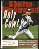 Derek Jeter Signed 1996 Sports Illustrated Magazine (Beckett LOA)