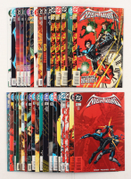 "Lot of (35) 1996-1999 DC ""Nightwing"" Comic Books Issues with #38, #29, #18, #10, #1"