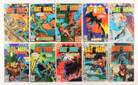 "Lot of (10) 1979 DC ""Batman"" Comic Books Issues with #314, #317, #313, #309, #311"