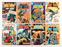 "Lot of (8) 1980-1981 DC ""Batman"" Comic Books Issues with #334, #336, #329, #331, #332, #330"