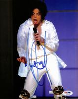 Michael Jackson Signed 8x10 Photo (PSA LOA)