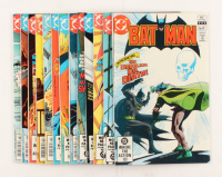 "Lot of (13) 1981-1982 DC ""Batman"" Comic Books Issues with #345, #341, #339, #346, #348"
