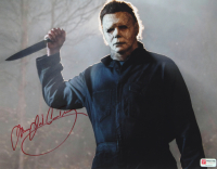 "James Jude Courtney Signed ""Halloween"" Michael Myers 11x14 Photo (PA COA) at PristineAuction.com"