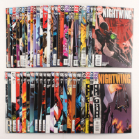 "Lot of (52) 2003-2007 DC ""Nightwing"" Comic Books Issues with #136, #132, #99, #107, #114"