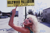 """Dale Bozzio Signed 8x12 Photo Inscribed """"Love"""" (Beckett COA)"""