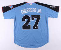 Vladimir Guerrero Jr. Signed 2017 All Star Futures Game Majestic Jersey (JSA COA)