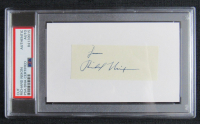 "Richard Nixon Signed Signature Cut Inscribed ""From"" (PSA Encapsulated) at PristineAuction.com"