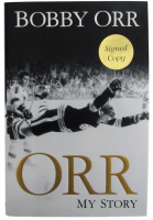 Bobby Orr Signed 'Orr My Story' Hard Cover Autobiography Book (JSA COA)