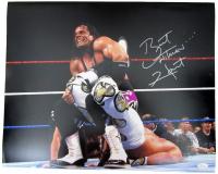 "Bret Hart Signed WWE 16x20 Photo Inscribed ""Hitman"" (JSA COA)"