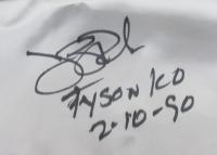 "James ""Buster"" Douglas Signed Boxing Trunks Inscribed ""Tyson KO 2/10/90"" (JSA COA) at PristineAuction.com"