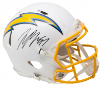 Joey Bosa Signed Los Angeles Chargers Full-Size Authentic On-Field Speed Helmet (Beckett COA) at PristineAuction.com