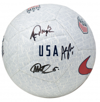 Megan Rapinoe, Alex Morgan & Alyssa Naeher Signed Team USA Nike Soccer Ball (JSA COA)