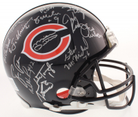 1985 Chicago Bears Full-Size Authentic On-Field Helmet with Super Bowl XX Logo Team-Signed by (31) with Mike Ditka, Dan Hampton, Mike Singletary, Richard Dent (Schwartz COA) at PristineAuction.com