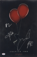 """""""IT Chapter Two"""" 12x18 Movie Poster Print Signed By (4) with James McAvoy, Andy Bean, Bill Hader & James Ransone (PSA LOA) at PristineAuction.com"""