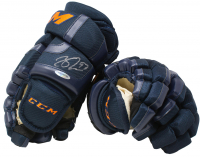 Connor McDavid Signed Edmonton Oilers CCM Glove (UDA COA)