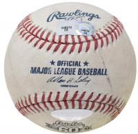 Derek Jeter Signed Game Used MLB Baseball Passing Wagner Hit List - MLB Hit #3431 Game (Seiner COA & MLB Hologram) at PristineAuction.com