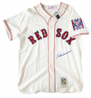Ted Williams Signed Boston Red Sox Jersey (Beckett LOA)