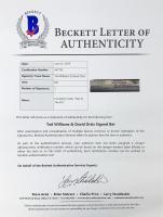 "Ted Williams & David Ortiz Signed Louisville Slugger Powerized Baseball Bat Inscribed ""Papi Y The Kid"" (Beckett LOA) at PristineAuction.com"