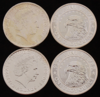 Lot of (4) 1 Troy Ounce Silver Rounds