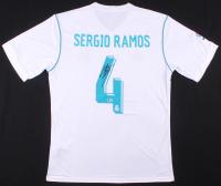 Sergio Ramos Signed Real Madrid Jersey (Beckett COA)