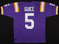 Derrius Guice Signed Jersey (JSA COA) at PristineAuction.com