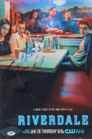 """Riverdale"" 12x18 Poster Print Signed By (4) with Lili Reinhart, Cole Sprouse, Madelaine Petsch, & Camila Mendes (PSA LOA) at PristineAuction.com"