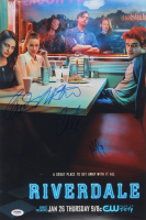 """""""Riverdale"""" 12x18 Poster Print Signed By (4) with Lili Reinhart, Cole Sprouse, Madelaine Petsch & Camila Mendes (PSA LOA) at PristineAuction.com"""