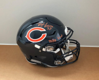 "Devin Hester Signed Chicago Bears Full-Size Authentic On-Field SpeedFlex Helmet Inscribed ""PR/KR GOAT""(JSA COA)"