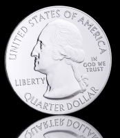 2015 America the Beautiful 5 oz Silver Blue Ridge Parkway (Uncirculated) at PristineAuction.com