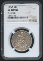 1876-S 50¢ Seated Liberty Half Dollar (NGC AU Details) at PristineAuction.com
