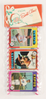 1975 Topps Baseball Unopened Christmas Rack Pack with (12) Cards