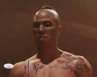 "Michel Qissi Signed ""Kickboxer"" 8x10 Photo (JSA COA) at PristineAuction.com"