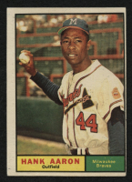 1961 Topps #415 Hank Aaron at PristineAuction.com