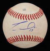 Franmil Reyes Signed Baseball (JSA COA) at PristineAuction.com