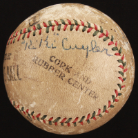 OL Baseball Signed by (5) with Honus Wagner, Kiki Cuyler, Lee Meadows With Multiple Inscriptions (Beckett LOA) at PristineAuction.com