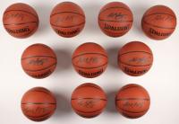 Lot of (10) Kobe Bryant Signed NBA Basketballs (PSA Hologram) at PristineAuction.com