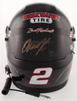 Brad Keselowski Signed 2018 NASCAR Discount Tire Full-Size Helmet (PA COA) at PristineAuction.com