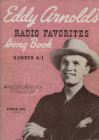Eddy Arnold's Radio Favorites Songbook No. A-1 Cover