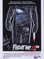 """Ari Lehman Signed """"Friday the 13th"""" Jason Voorhees 11x14 Photo Inscribed """"Jason 1"""" (PA COA) at PristineAuction.com"""