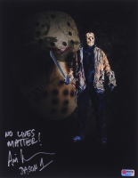 "Ari Lehman Signed Jason Voorhees 11x14 Photo Inscribed ""No Lives Matter!"" & ""Jason 1"" (PA COA) at PristineAuction.com"