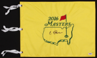 Condoleezza Rice Signed 2016 Masters Golf Pin Flag (PSA COA) at PristineAuction.com