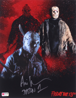 "Ari Lehman Signed Jason Voorhees 11x14 Photo Inscribed ""Jason 1"" (PA COA) at PristineAuction.com"