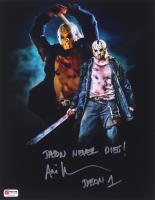 "Ari Lehman Signed Jason Voorhees 11x14 Photo Inscribed ""Jason Never Dies!"" & ""Jason 1"" (PA COA) at PristineAuction.com"