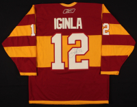 Jarome Iginla Signed Calgary Flames Captain Jersey (PSA COA) at PristineAuction.com