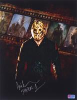 "Ari Lehman Signed Jason Voorhees 11x14 Photo Inscribed ""Jason 1"" (PA COA) at PristineAuction.com"