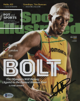 Usain Bolt Signed 8x10 Sports Illustrated Cover Photo (Beckett COA)